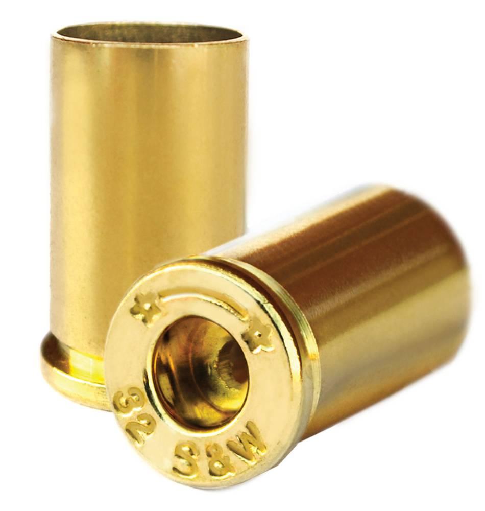 Starline Brass STAR32SWEUP1 Handgun 32 Smith & Wesson Brass 100 Per Bag