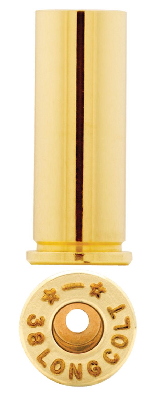 Starline Brass STAR38LCEUP1 Handgun 38 Long Colt Brass 100 Per Bag