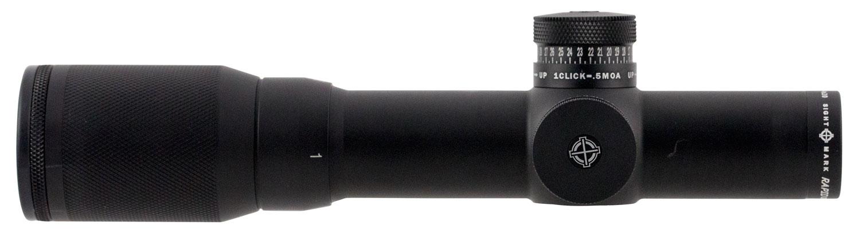 Sightmark SM13051 Rapid AR 1-4x 20mm Obj 93.00-22.70 ft @ 100 yds FOV 30mm Tube Black Matte Finish Illuminated Red SCR-300 (SFP)