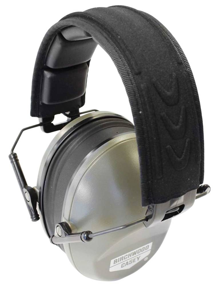 Birchwood Casey 43210 Krest Passsive Low Profile Muffs Earmuff 24 dB Gray