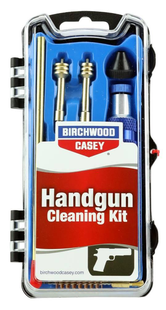 Birchwood Casey 41632 Handgun Cleaning Kit 22, 357, 9mm, 40/10mm , 45/410 Cal Handgun 13 Pieces
