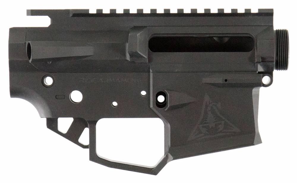 Rise Armament RPR1BLK Ripper AR15 Receiver 223 Remington/5.56 NATO Black Hardcoat Anodized