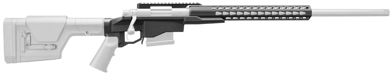 Remington Accessories 19949 700 Precision Chassis with Square Drop Handguard Aluminum Black
