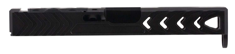 Patriot Ordnance Factory 01431 Glock 19 Gen4 Stripped Slide 17-4 Stainless Steel Black Nitride