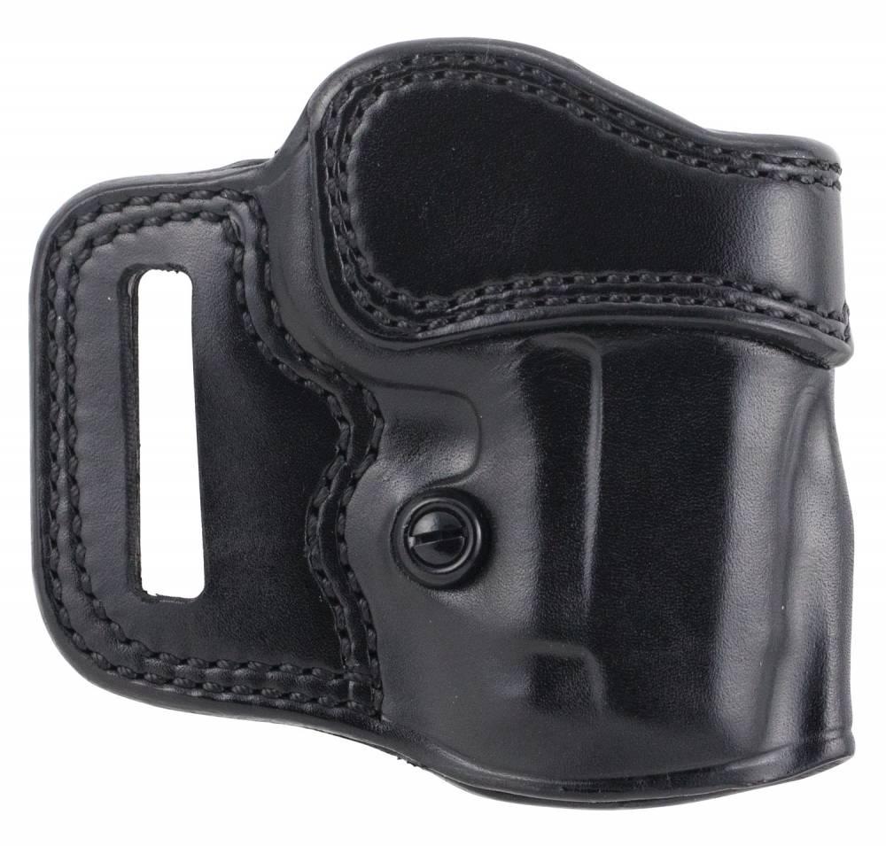 Galco AV424B Avenger  Black Leather Belt 1911 3