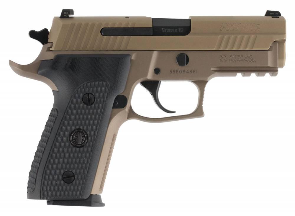 Sig Sauer P229 Emperor Scorpion 9mm Luger 3.90 15+1 Flat Dark Earth PVD