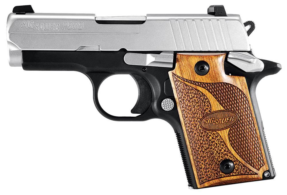 Sig Sauer 938M9SASAMBI P938 Micro-Compact SAS *MA Compliant* 9mm Luger 3