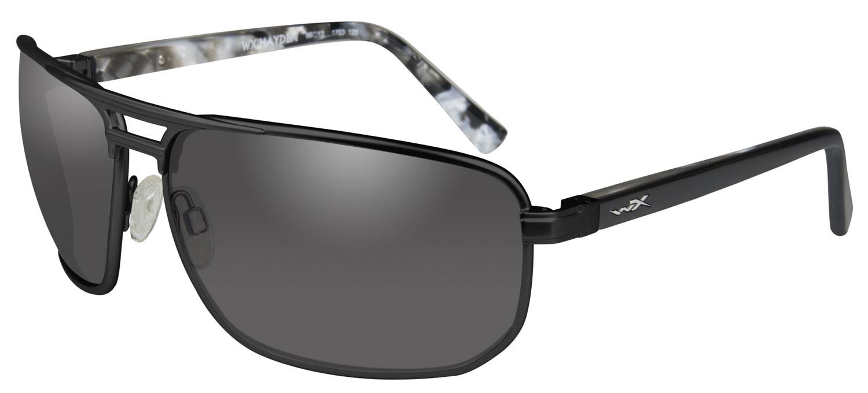 Wiley X ACHAY01 Hayden Eye Protection Smoke Gray Lens Black Matte