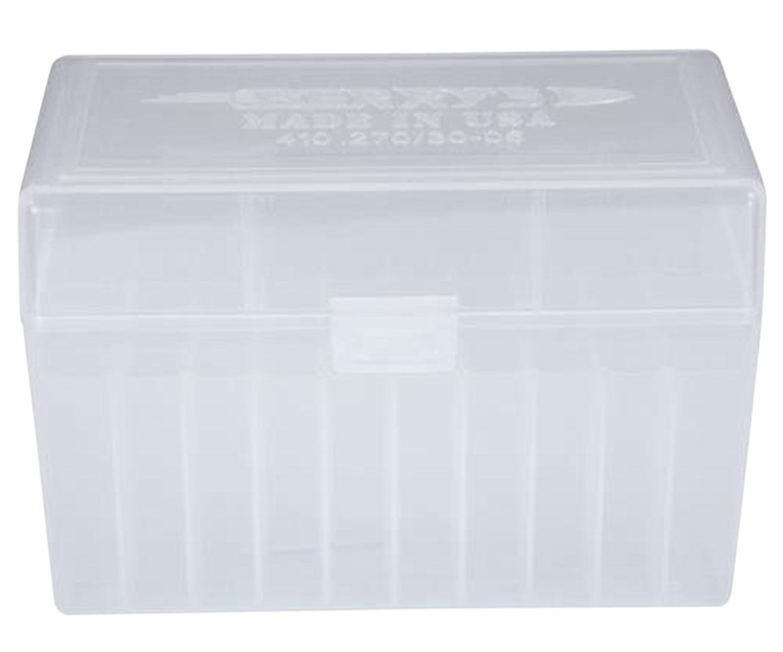 Berrys 41001 410 Ammo Box 270 Win;30-06 Spgfld 50rd Clear