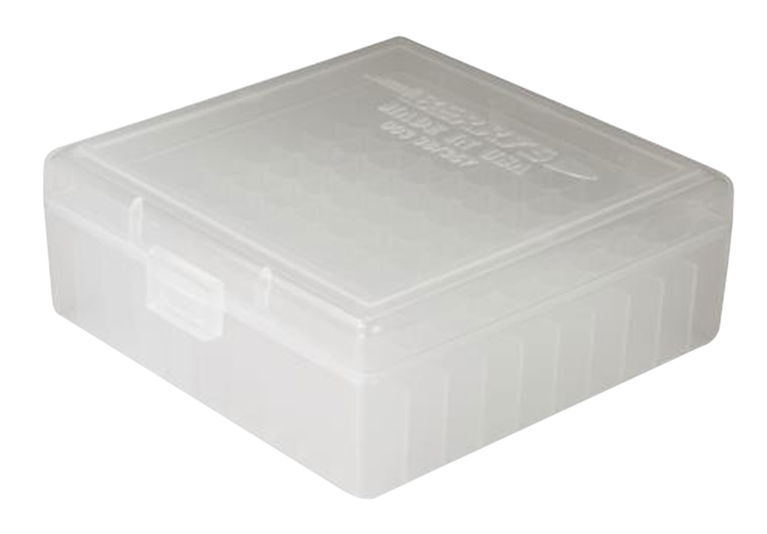Berrys 03030 003 Ammo Box 38 Special,357 Mag 100rd Clear