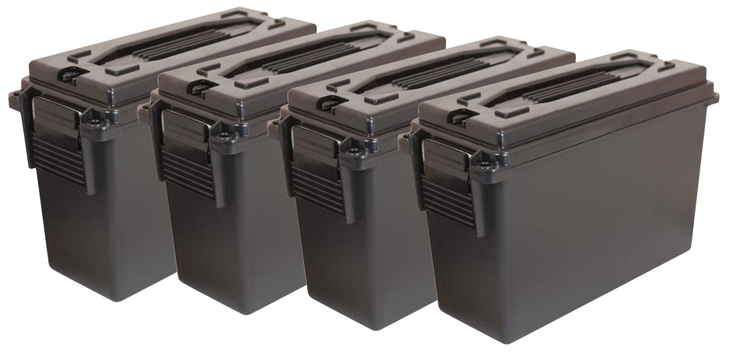 Berrys Ammo Can 20 Cal Black 4 Pack