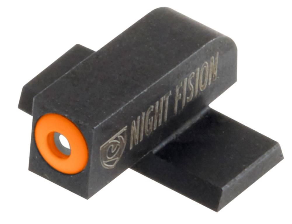 Night Fision SPR226007OGZ Night Sight Set Square Front/U-Notch Rear Springfield XD/XD(M)/XD-M2 Green Tritium w/Orange Outline Black