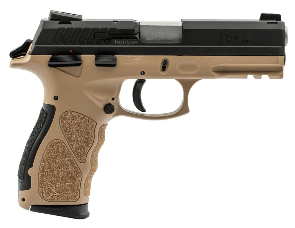 TAU TH9 9MM 4.25 17R FDE/BK
