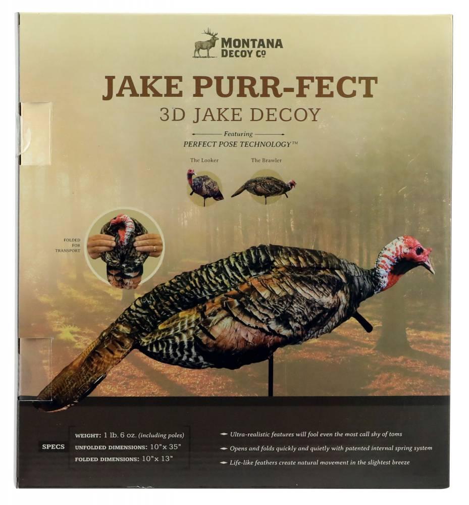 Montana Decoy 0061 Jake Purr-Fect 3D Jake Turkey Decoy