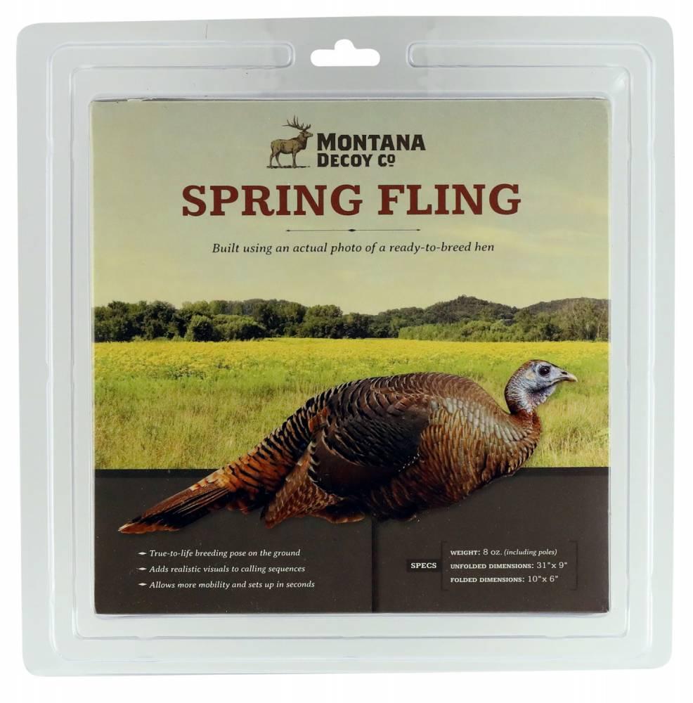 Montana Decoy 0042 Spring Fling Hen Turkey Decoy