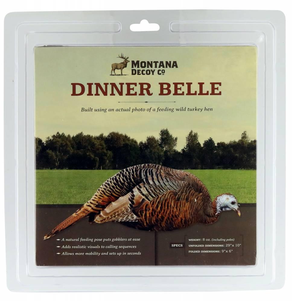 Montana Decoy 0043 Dinner Belle Hen Turkey Decoy