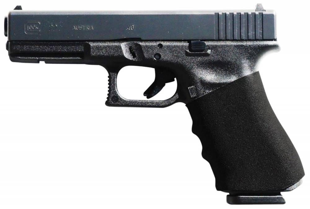 EZR Sport 10610 Full Size Gauntlet  Black Polymer Grip Sleeve fits Glock