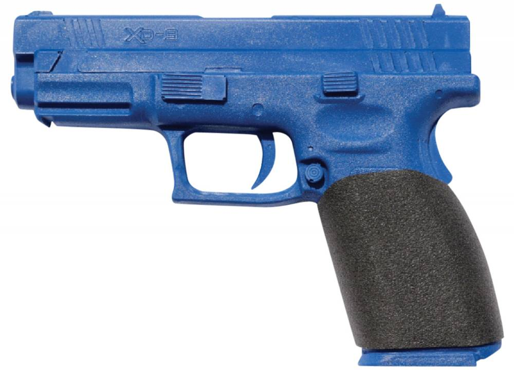 EZR Sport 10675 Compact Gauntlet  Black Polymer Grip Sleeve for Springfield XD