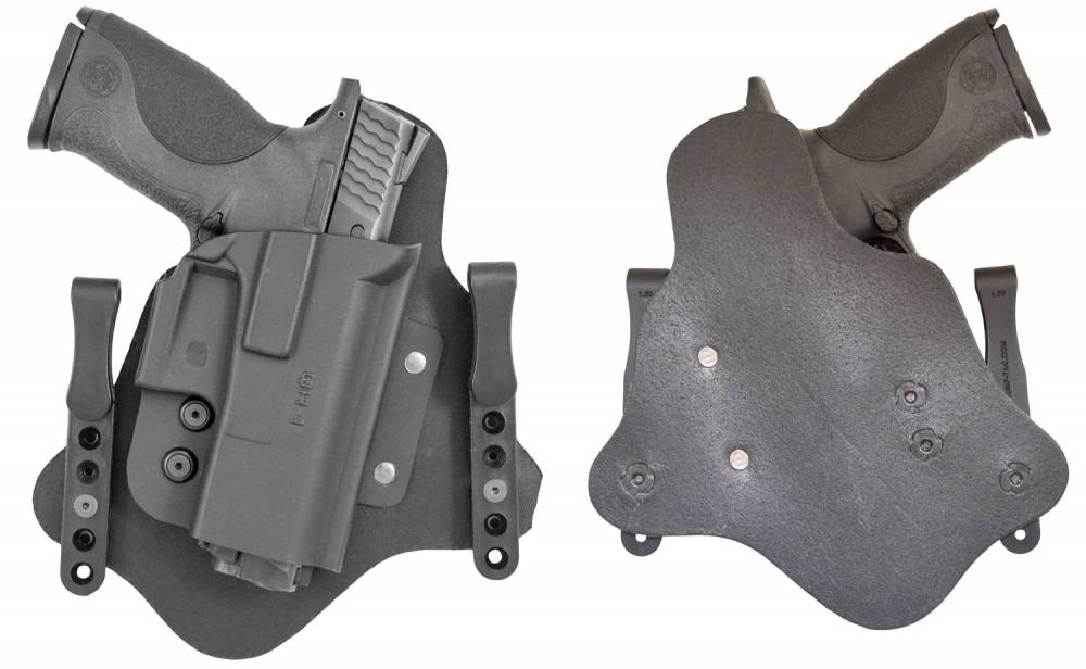 Comp-Tac QH Compatible with Glock 43 Black Kydex