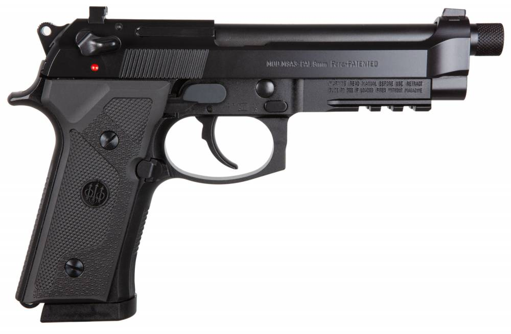 BER M9A3 9M 3MG ITALY BLK 17RD