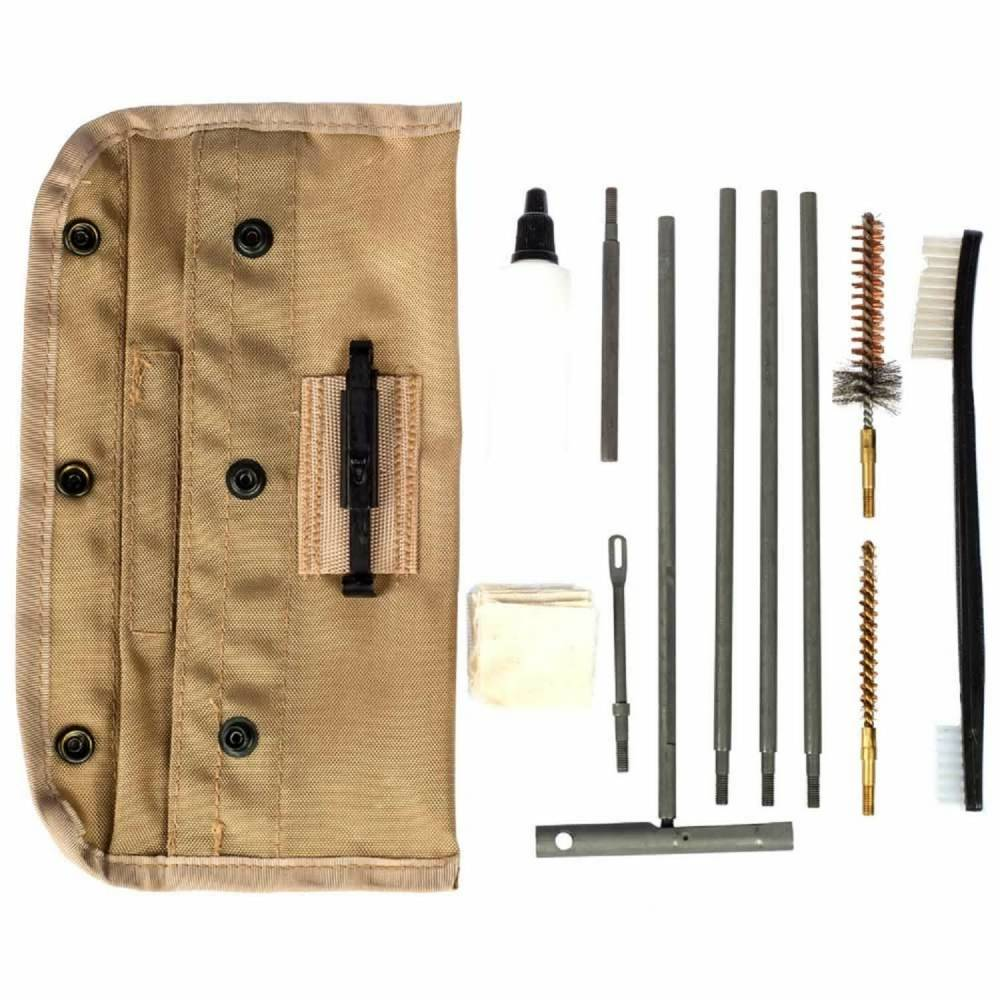 TAC SHIELD CLEANING KIT UNIVERSAL GI FIELD TAN POUCH!