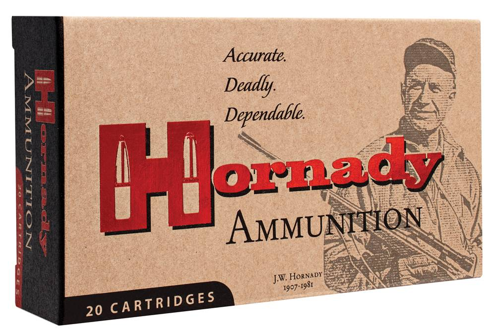 Hornady 83028 Custom  22 Hornet 45 gr Soft Point (SP) 50 Bx/ 10 Cs
