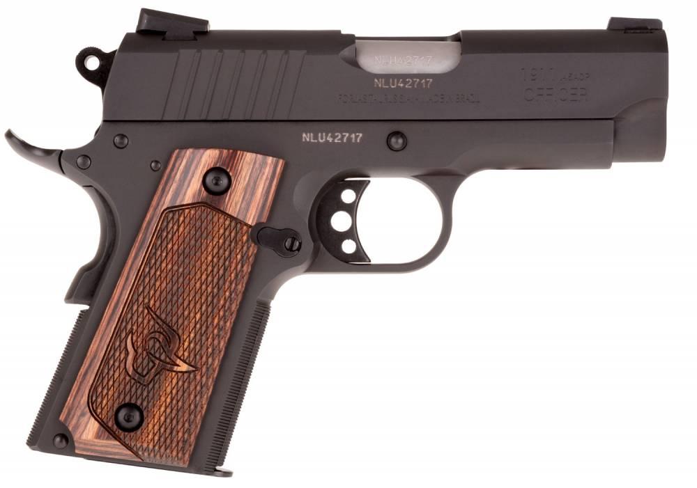 TAU T1 1911 45 OFFCR ALTA WD BK/BK