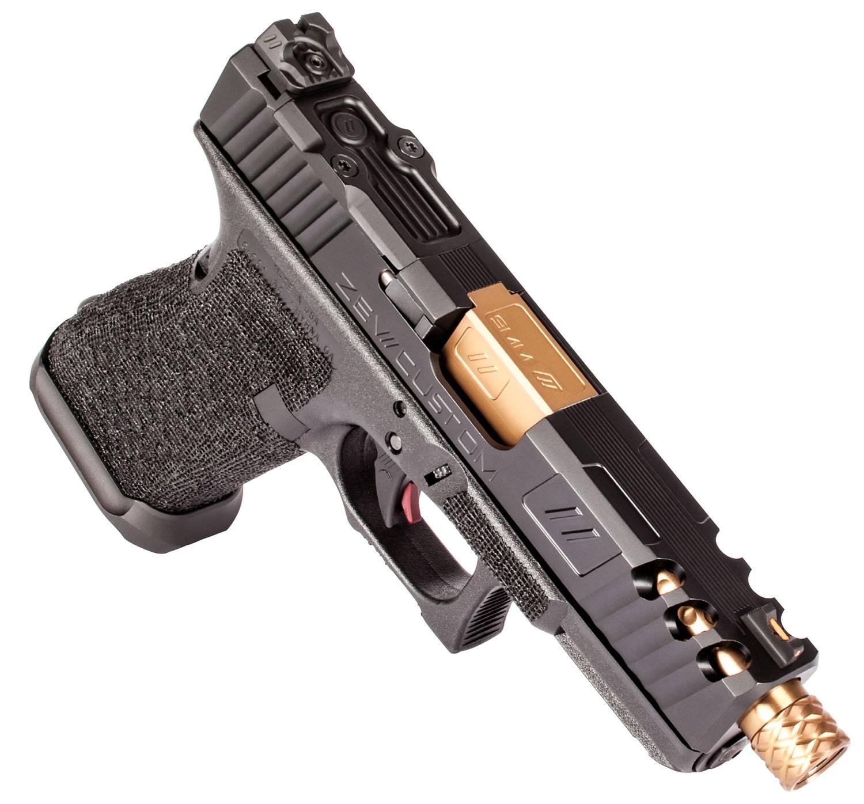 ZEV GUN-3G-Z19-SPART-RMR-TH-DLC Z19 SPARTAN 9MM