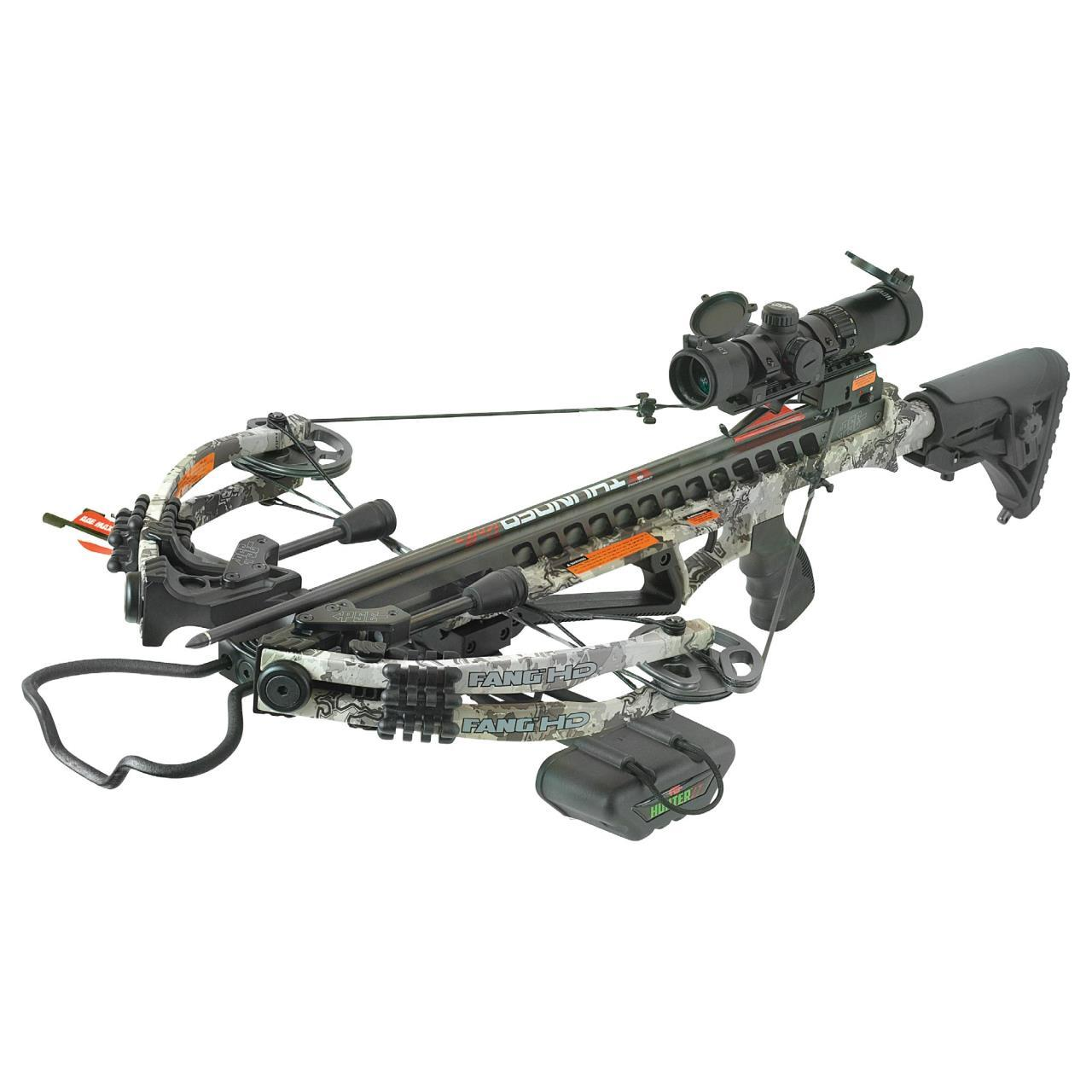 PSE CROSSBOW KIT FANG HD 400FPS TRU TIMBER VIPER
