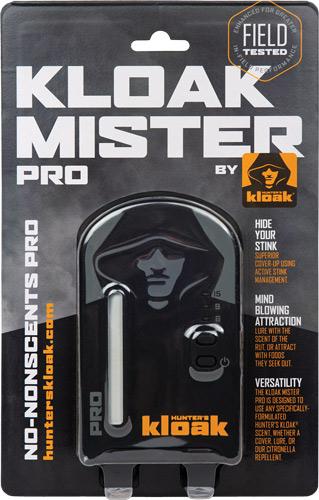 HUNTER'S KLOAK MISTER PRO GEN3 W/ CHARGING CABLE & LANYARD