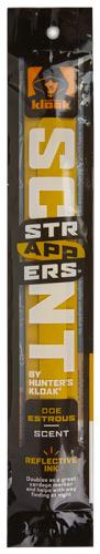 HUNTER'S KLOAK DOE ESTROUS SCENT STRAPPER W/RFLCTVE INK