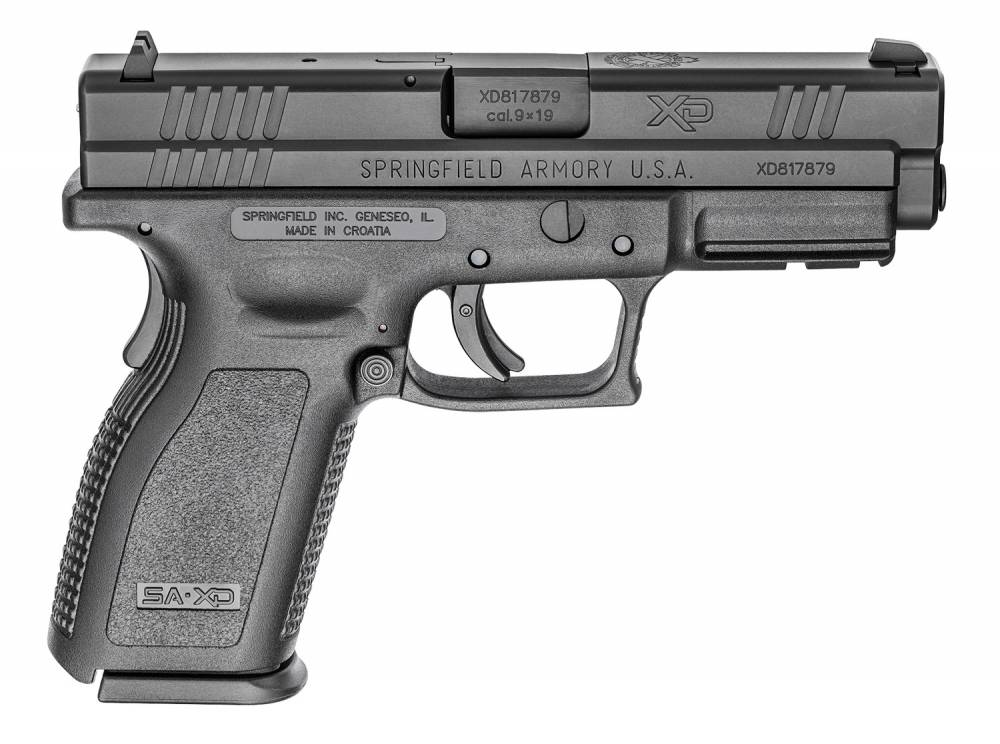 Springfield XD Essential Package DAO 9mm 4