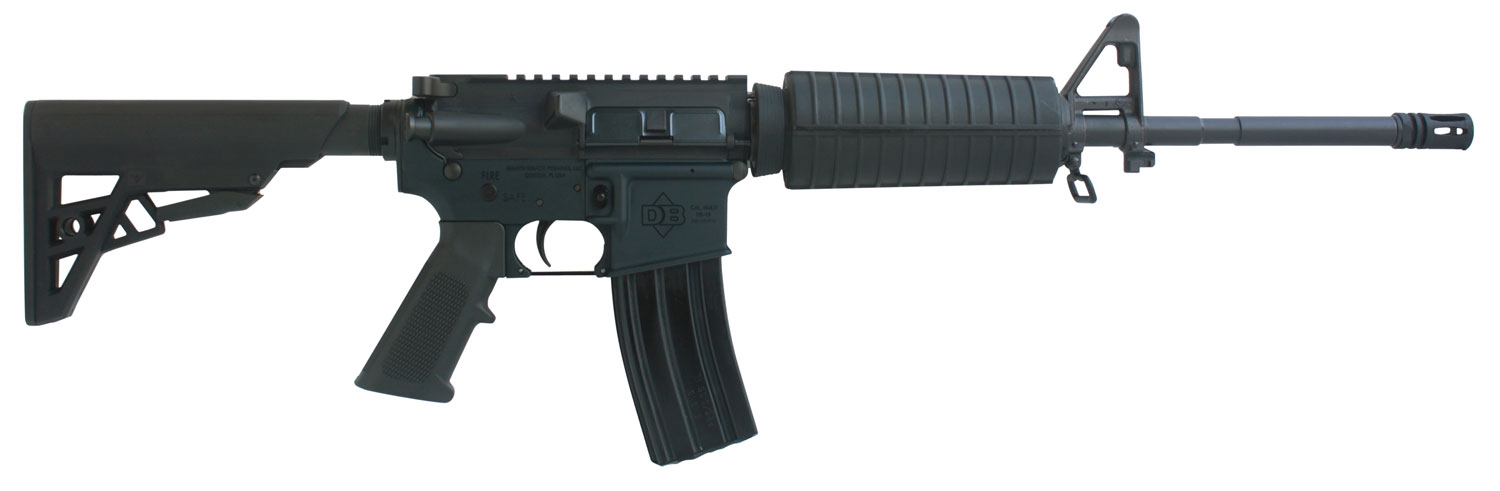 Diamondback DB15 with Single Rail Semi-Automatic 223 Remington/5.56 NATO 16