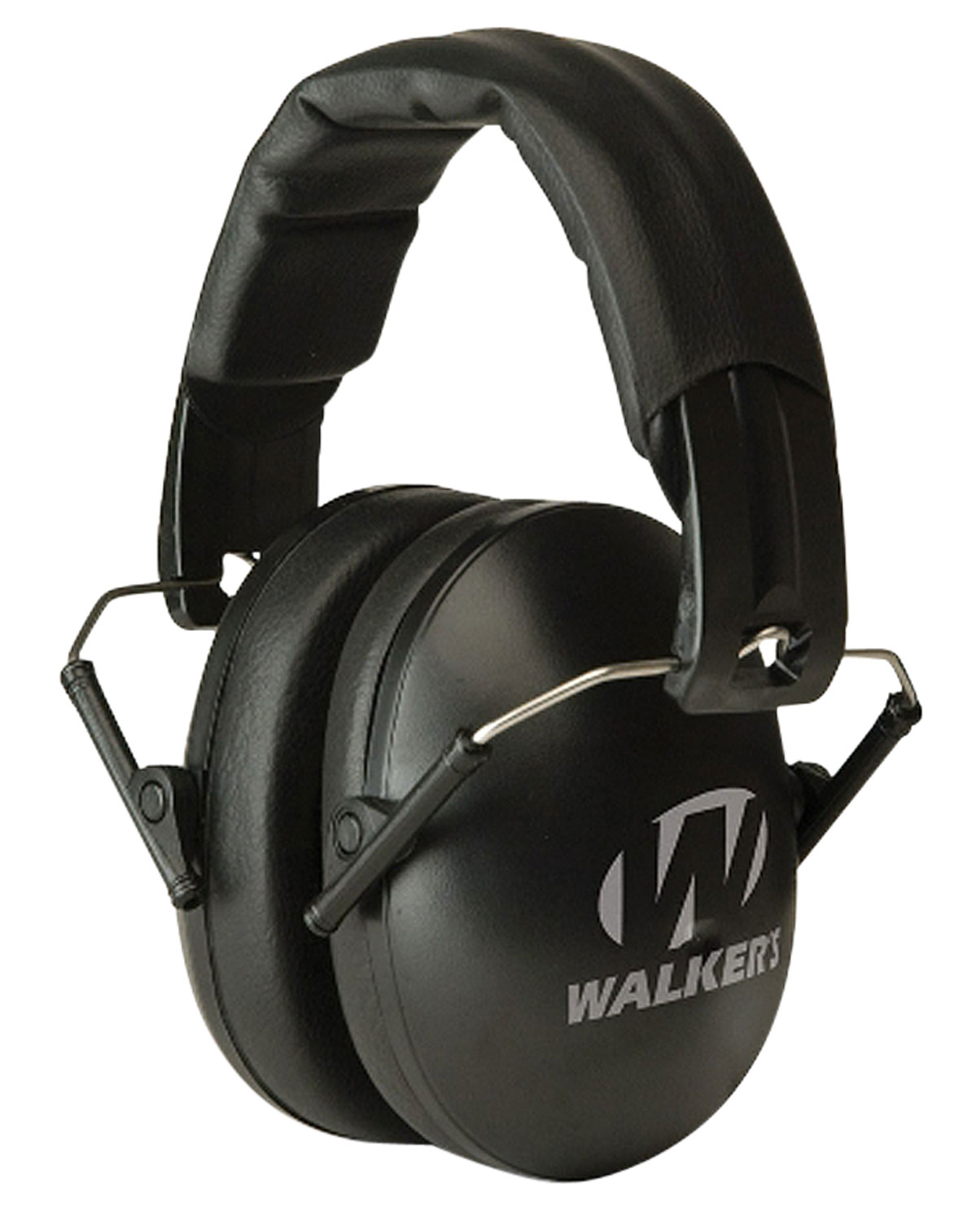 Walkers Youth & Women Folding Muff Earmuff 27 dB Black