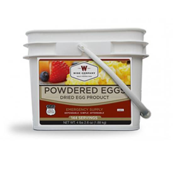 Wise Foods Grab & Go Breakfast Bucket Dehydrated/Freeze Dried