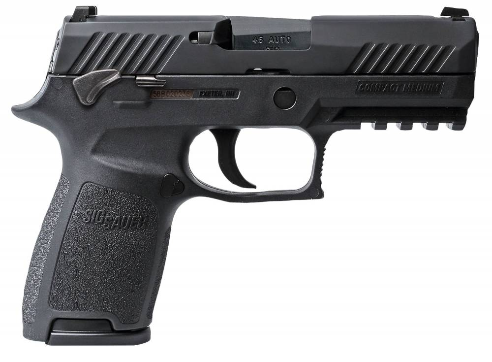Sig Sauer 320C45BSSMS P320 Compact Double 45 Automatic Colt Pistol (ACP) 3.9