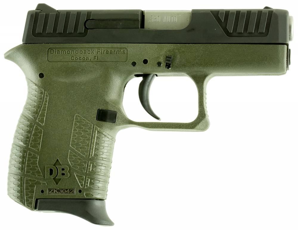 Diamondback DB380 Micro-Compact Double 380 Automatic Colt Pistol (ACP) 2.8