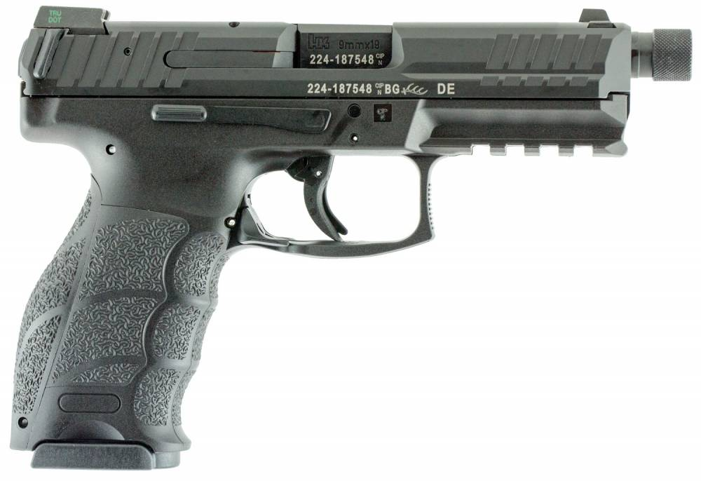 HK VP9 Tactical Double 9mm Luger 4.7
