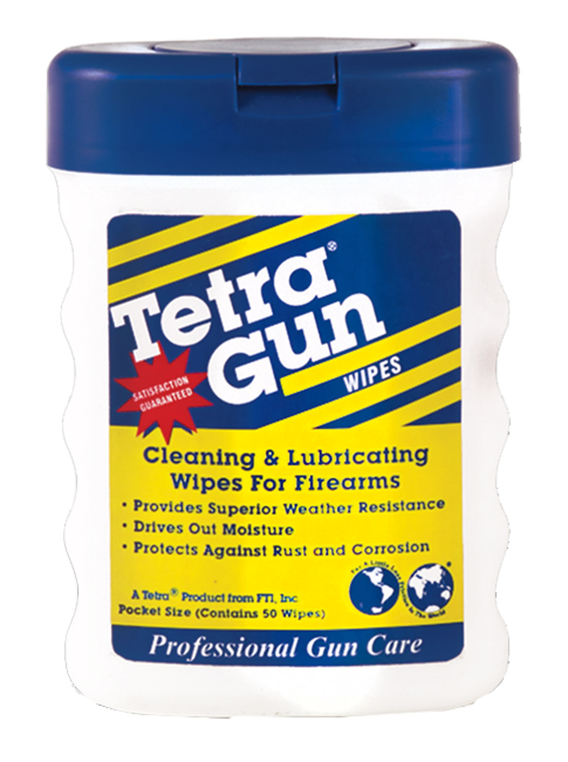 Tetra Protective Cleaning Lubricant Gun Wipes Universal
