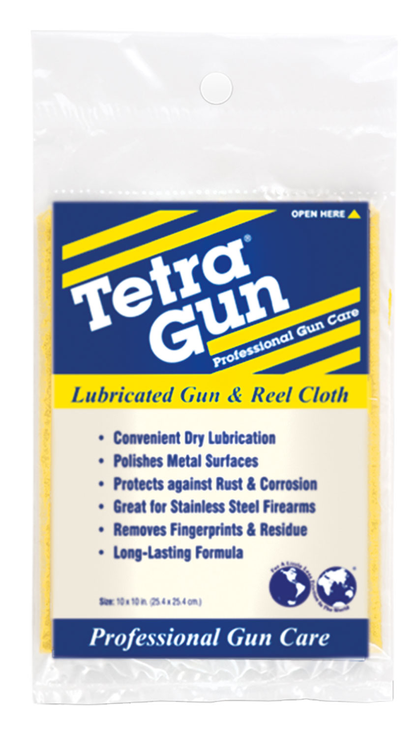 Tetra Lubricating Gun and Reel Cleaning Cloth 10