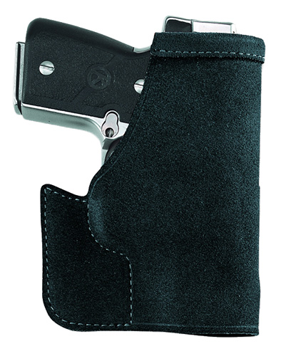 Galco Pocket Protector Inside the Pocket S&W Bodyguard 380 w/Laser Steerhide Center Cut Black