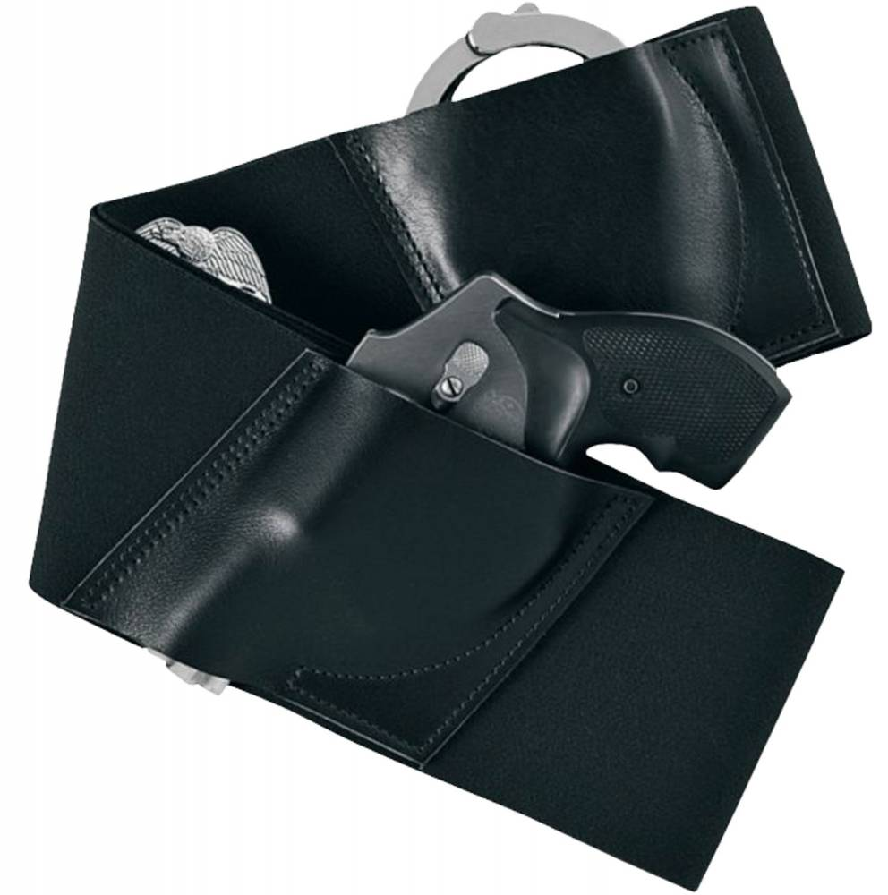 Galco Underwraps Belly Band Universal Black Medium Black Elastic/Nylon