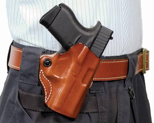 DESANTIS MINI SCAB WAL P22 RH TAN