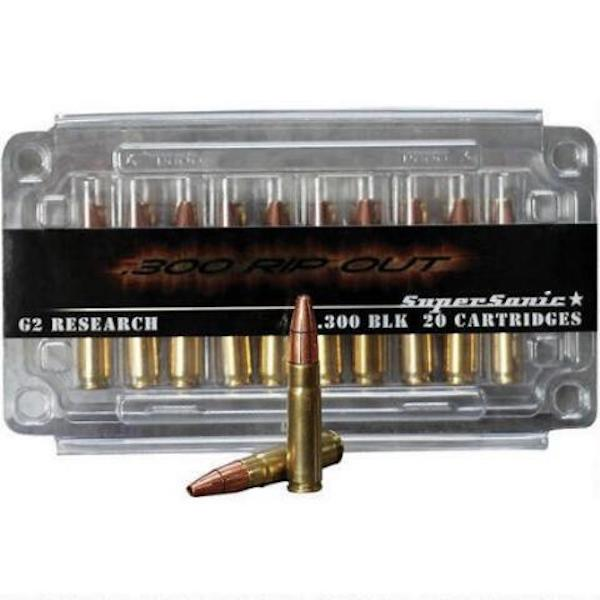 G2R RIP-OUT 300BLK 110GR 20/360